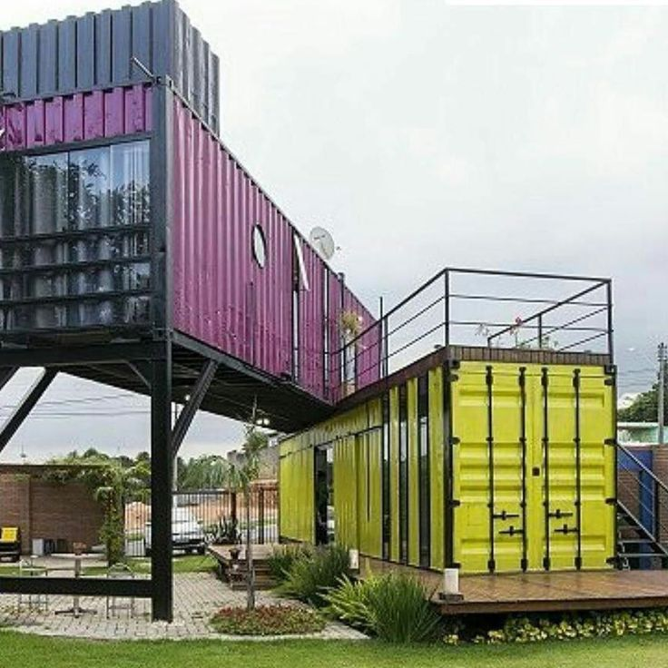 Containerhouses the 440 best images about iso container houses & buildings on