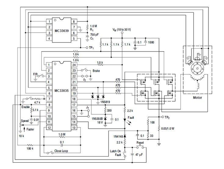 mc33035 basic schematic