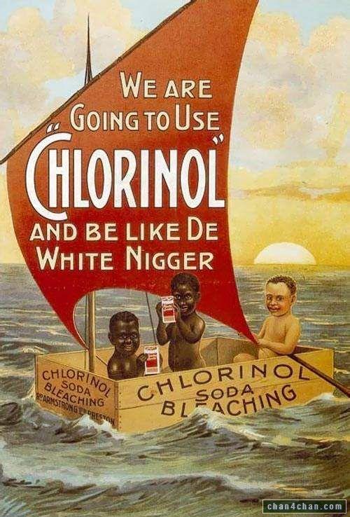 """""""Be like de white niga"""""""
