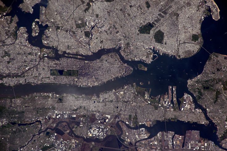 New York from above. | You Should See The Photos Tim Peake Took From Space