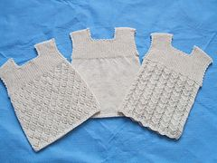 Pattern or Plain - Vest pattern by Patons Australia - 4ply - size newborn to 18 months