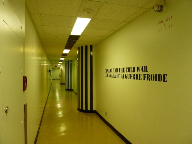 The Not So Nightly News: We Visit the Diefenbunker: Covers Exerci, Living Underground, Squares Floors, Floors Tile, Night News, Government Building, News Clip