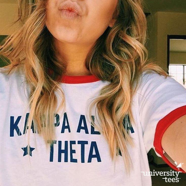 USA | Kappa Alpha Theta | Made by University Tees | universitytees.com