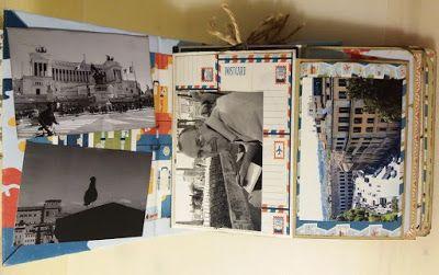 Vertical envelopes album (video included) http://happyscrappyro.blogspot.ro/