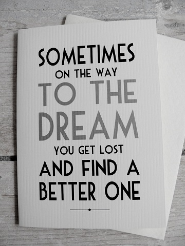 dream---just one more reason to never, ever give up!