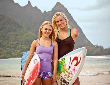 AnnaSophia Robb and Bethany Hamilton ~ Soul Surfers