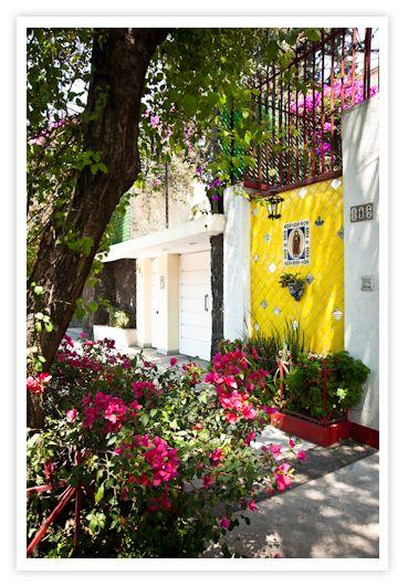 Mexican courtyard
