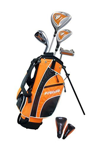 "Junior Golf Club Set for Ages 3 to 5 (Left Hand) - Height 3ft to 3'8"" Inches"
