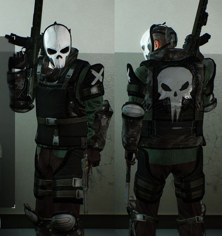 """""""Cosplaying"""" The Punisher in Payday 2"""