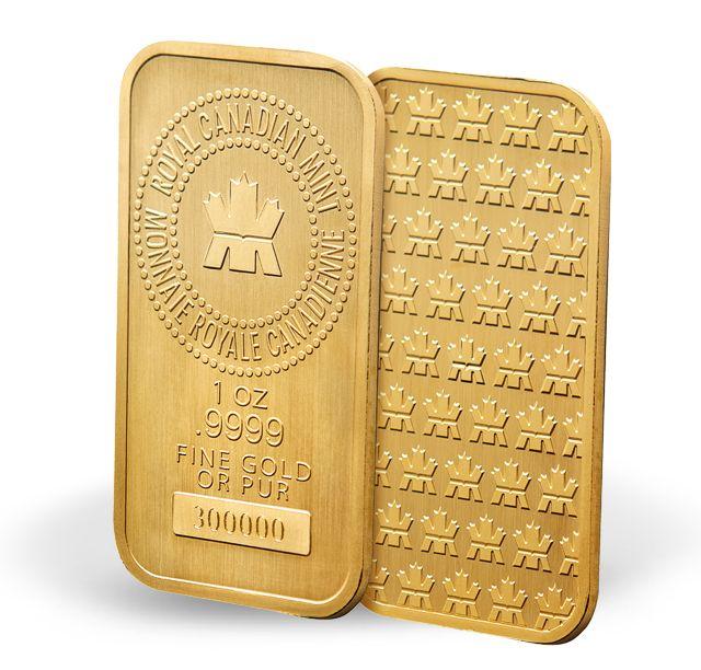 Plaquettes en or