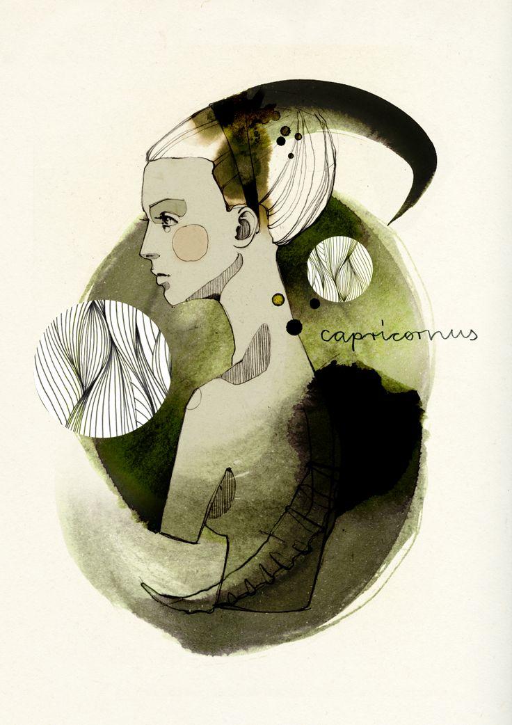 Zodiac Signs by Ekaterina Koroleva on Behance