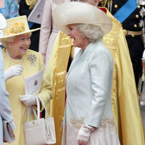 Queen Elizabeth II with Camilla