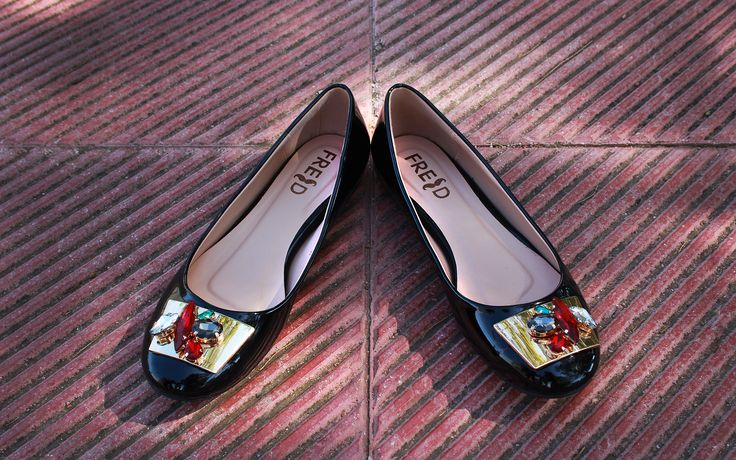 Autumn Winter New Collection #fred #keepfred #shoes #ballerinas #new #collection #fashion #style #flatshoes #black #flat