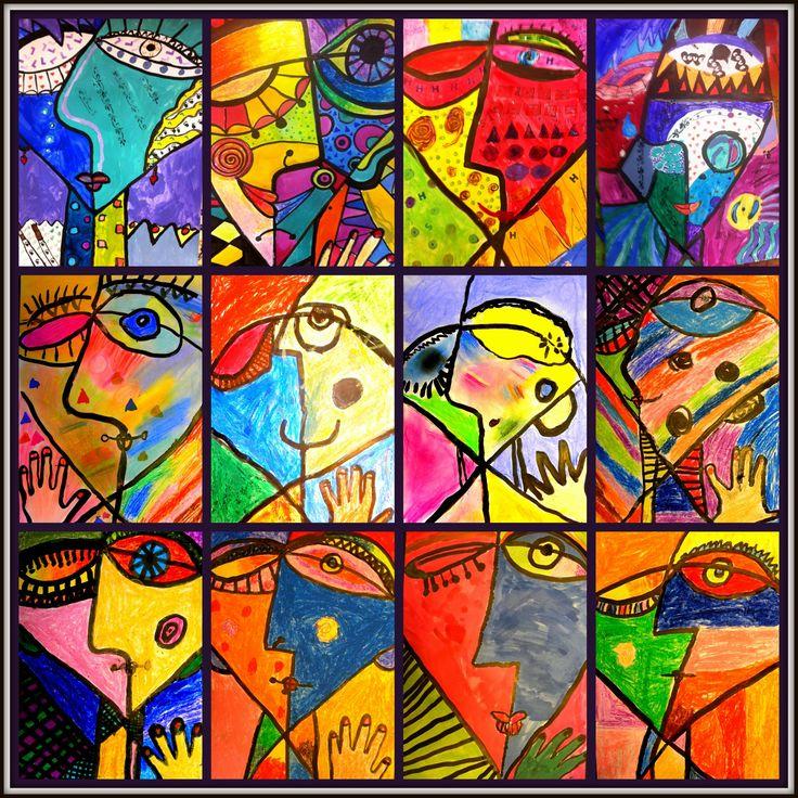 Picasso met de kinderen (Kunstclubs)