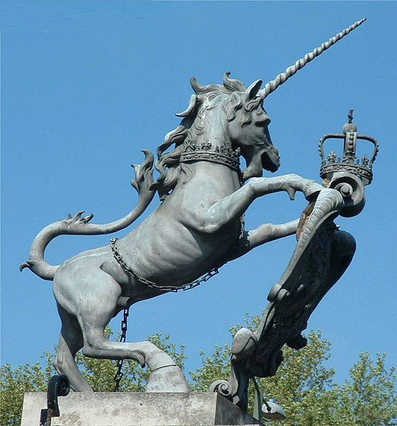 The national animal of Scotland is the unicorn.  Scots are that awesome!