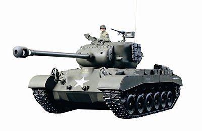 Tamiya 1/16 radio control tank series No.15 American tanks M26 Pershing ful