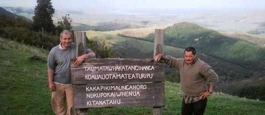 Taumatawhakatangihangakoauauotamateaturipukakapiki-maungahoronukupokaiwhenuakitanatahu - The longest place name in the world