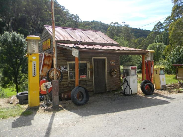 Servo at Woods Point, Victoria, Australia.
