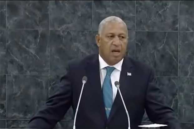 NEWS 1 Oct 2015 By Thom Mitchell Keywords: frank bainimarama fiji climate change united nations. tony abbott peter dutton malcolm turnbull Frank Bainimarama has taken aim at advanced nations for i... http://winstonclose.me/2015/10/02/fiji-pm-warns-of-syria-style-refugee-crisis-if-rich-nations-dont-do-more-on-climate-written-by-thom-mitchell/