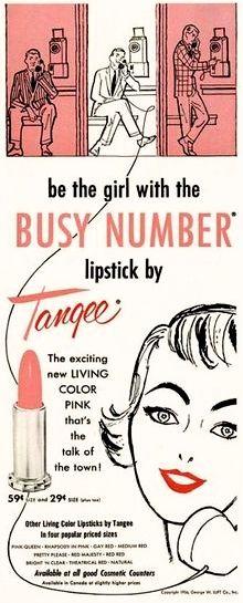 Tangee Lipstick, 1956