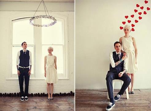 Костюмы в стиле ретро для свадьбы