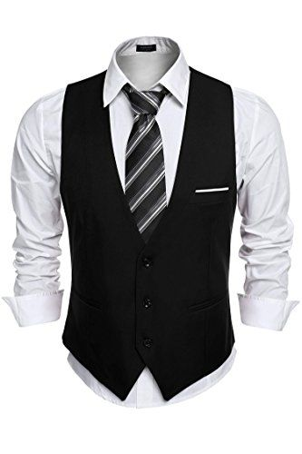 Coofandy Mens V-neck Sleeveless Slim Fit Jacket Casual Suit Vests,Black,Small COOFANDY http://www.amazon.com/dp/B018G7HUXS/ref=cm_sw_r_pi_dp_7v6Uwb1ND0SRQ