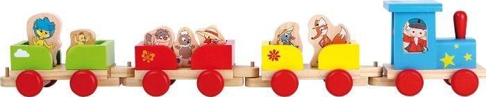 Sandmännchen Eisenbahn Holz Zug Namen Spielzeug Sandmann