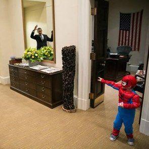obama and mini spiderman - Google Search