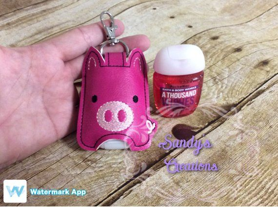 Piggy Hand Sanitizer Holder Hand Sanitizer Holder Hand