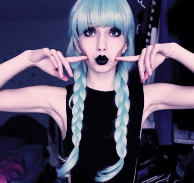 Pastel Goth On Tumblr: 8 Best Finn With Purple Hair Images On Pinterest