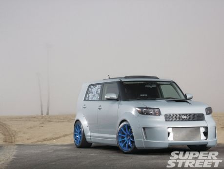 Superbe 2008 Scion XB Rear Wheel Drive U0026 Powered By A Engine