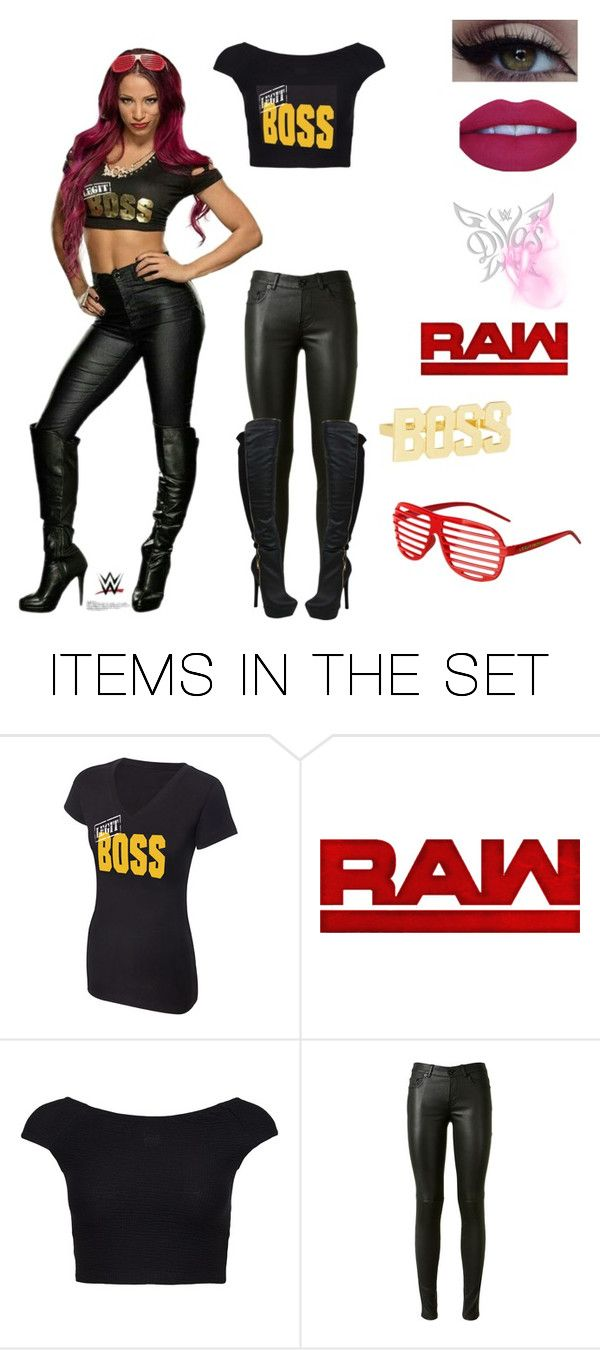 """""""WWE Sasha Banks~Raw"""" by queenreigns-916 ❤ liked on Polyvore featuring art"""