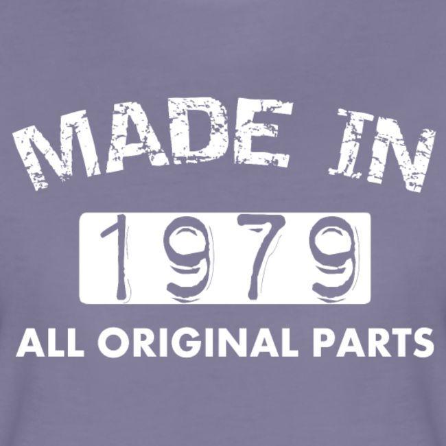 Geburtstag 40 Jahre T Shirt Made In 1979 Frauen Premium T Shirt