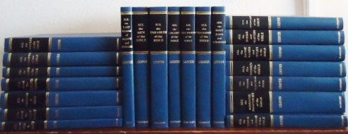 Bible Study Set by Herbert Lockyer | Examples: All The Apostles of the Bible ~ All the Trades and Occupations of the Bible ~ All the Miracles of the Bible ~ All the Holy Days and Holidays ~ All the Teachings of Jesus ~ All the Divine Names and Titles in the Bible ~ All the Children of the Bible ~ All the Parables of the Bible ~ All the Doctrines of the Bible ~ All About God in Christ ~ All the Angels in the Bible ~ All About The Holy Spirit ~ All the Women of the Bible...