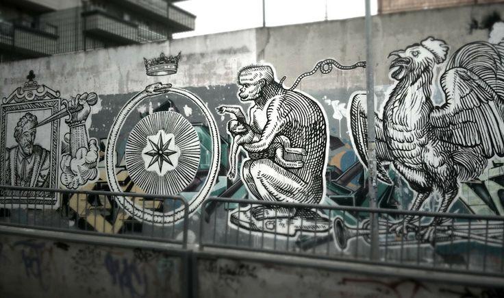 Ozmo, Foligno, Italy - unurth | street art