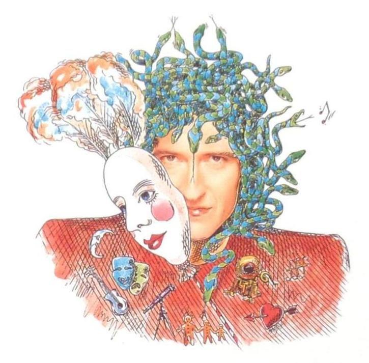 Brian May 'Innuendo' Artwork