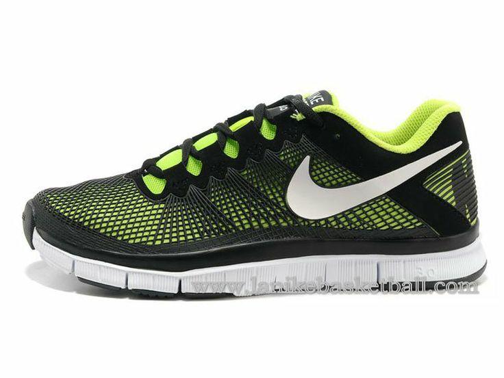 Nike Free Trainer 3.0 Chaussures Pour Homme Noir Vert Blanc  553684-800-Boutique La
