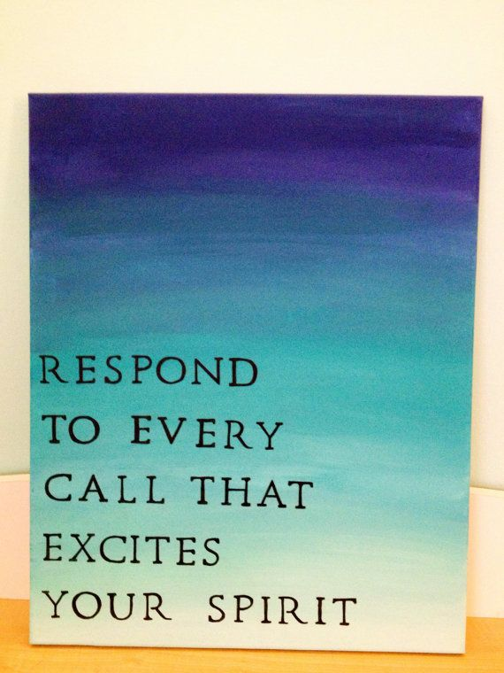 Hand Painted Ombre Canvas with Quote on Etsy, $25.00 ...