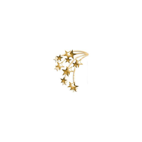 Image of Star Spray Gold - Photobucket - Video and Image Hosting ❤ liked on Polyvore