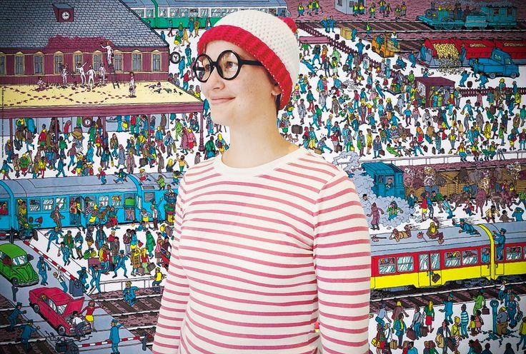 Where's Waldo crochet hat pattern