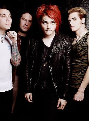 MY CHEMICAL ROMANCE, I'm sorry but just look at Gerard's face! And Frank's... And Ray's, and Mikey's.