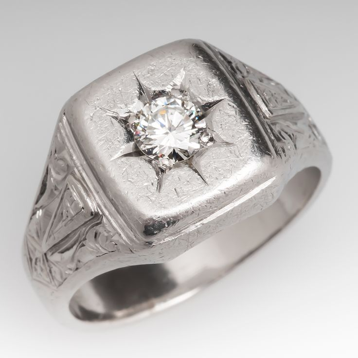 118 best mens estate jewelry images on s