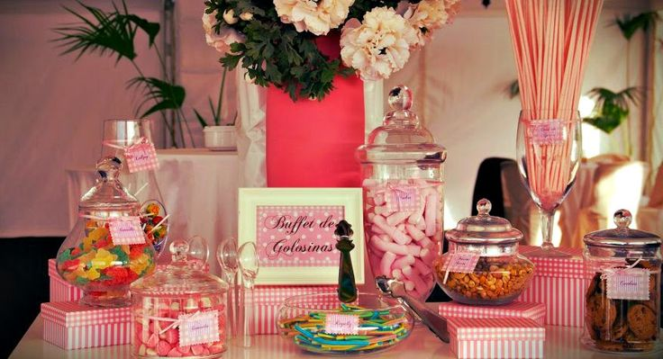 ETC Weddings: Candy bar rosa para R&B info@etcbahia.com