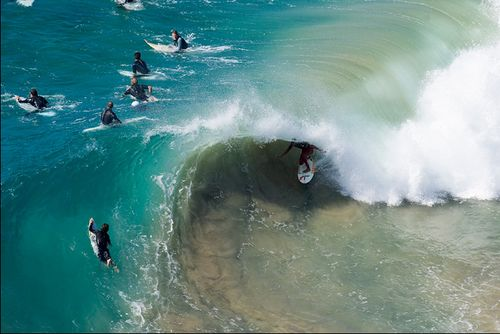heavy and shallow.  love the two-tone.: Photos, Sands, Awesome Surfing, Endless Summer, Awesome Angles, Beaches Life, The Ocean, Surfing Beaches, The Waves
