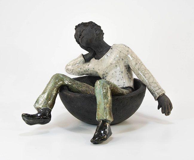 17 meilleures id es propos de sculptures c ramiques sur pinterest sculptures en argile. Black Bedroom Furniture Sets. Home Design Ideas