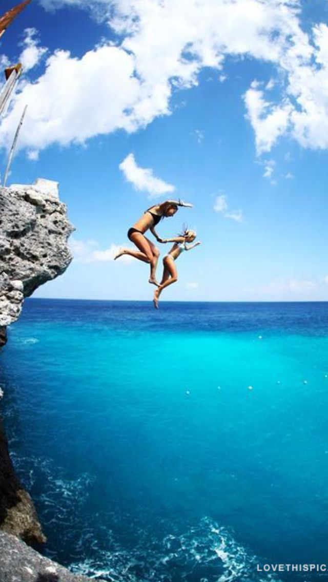 11 best girls two piece swimsuits images on pinterest swimming suits swimsuit and bathing suits - Highest cliff dive ever ...