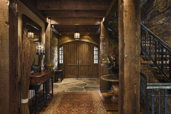 Image Detail For Rustic House Design Furniture In Western Style