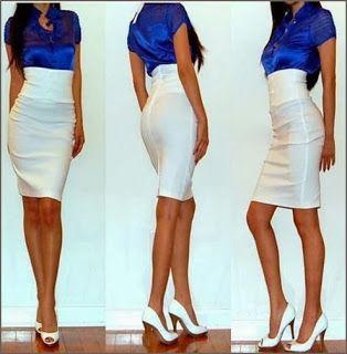 e42c8b690 como hacer faldas talle alto