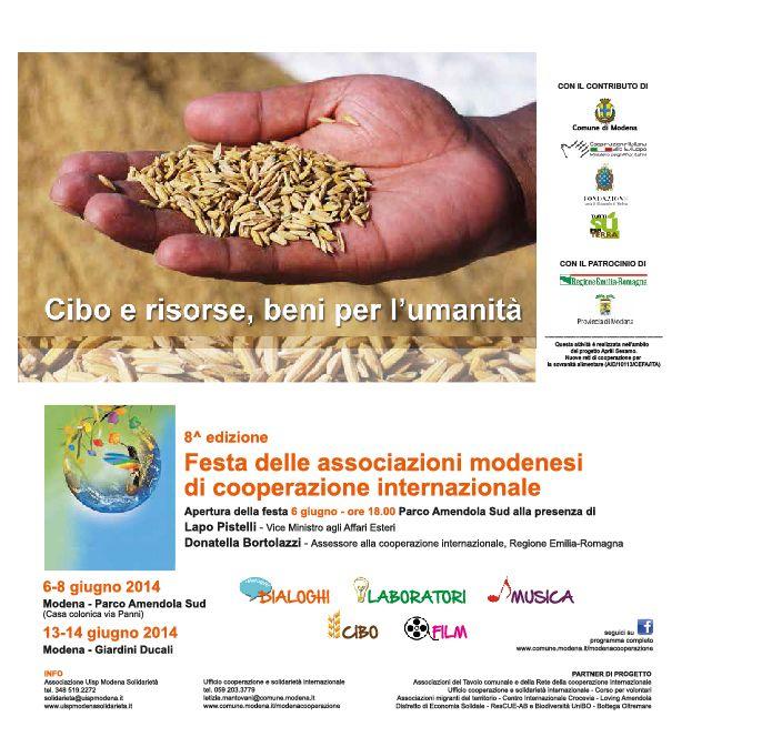 8^ edizione festa delle associazioni modenesi della cooperazione internazionale