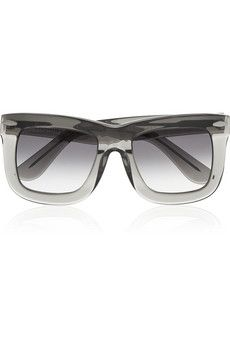 Finds + GREY ANT Status square-frame acetate sunglasses | NET-A-PORTER